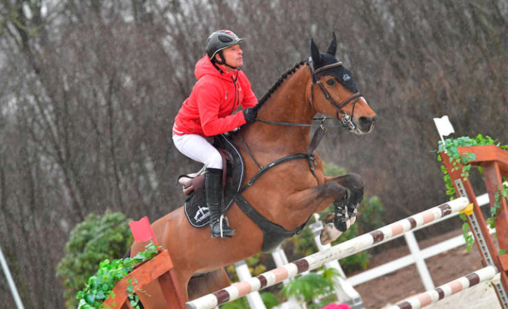 Victory in the 2* Grand Prix for Living The Dream
