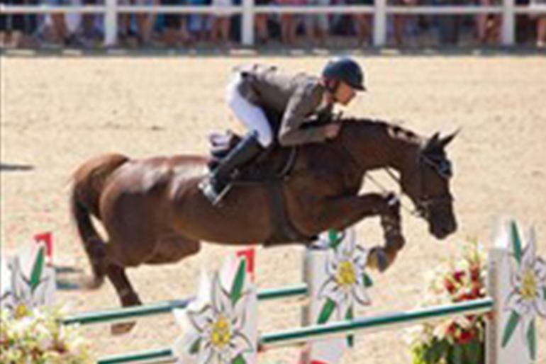CSI 3* Crans-Montana: Junge Pferde immer besser