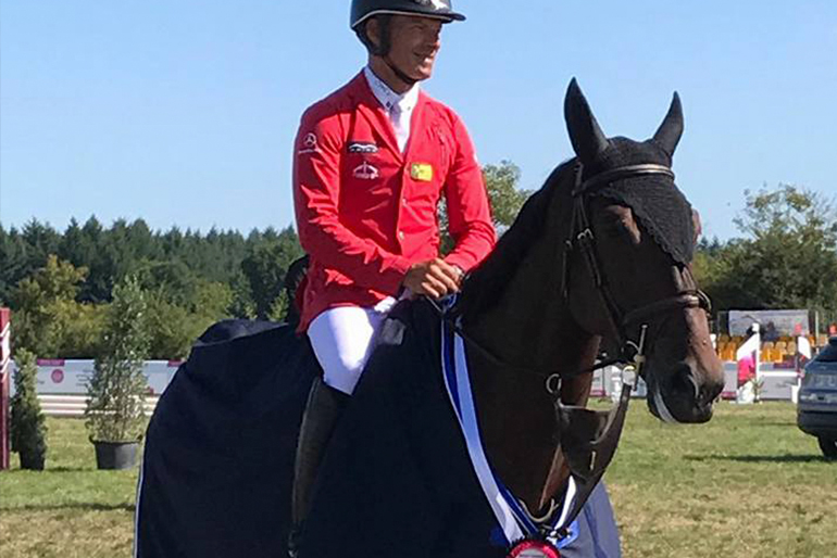 CSI 3* Courlans: 5th place in the GP and two wins