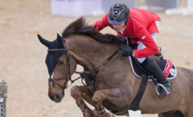 CSI 3* Frankfurt: Young horse Cortney-Cox shines