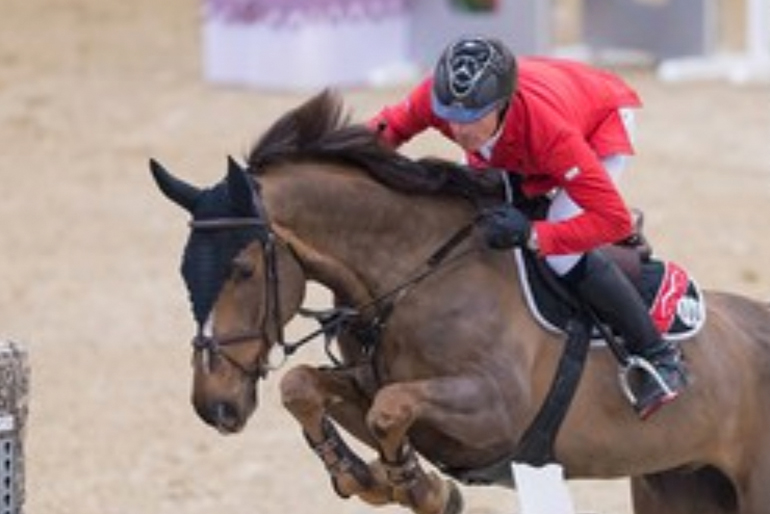 CSI 3* Frankfurt: Young horse Cortney-Cox shines