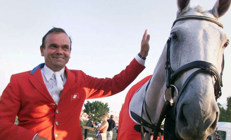 Show jumping legend Willi Melliger is dead