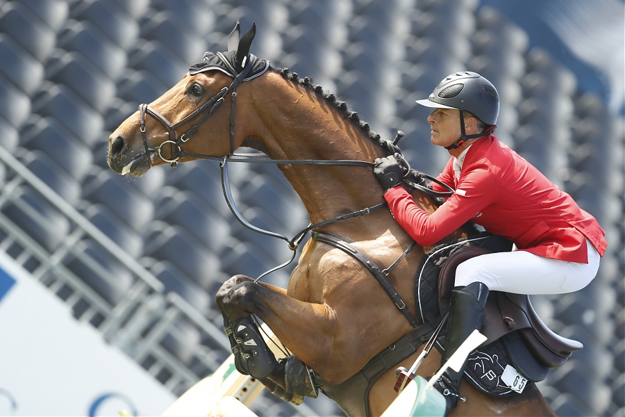 GCT Chantilly: Leonard und Cortney-Cox in Form