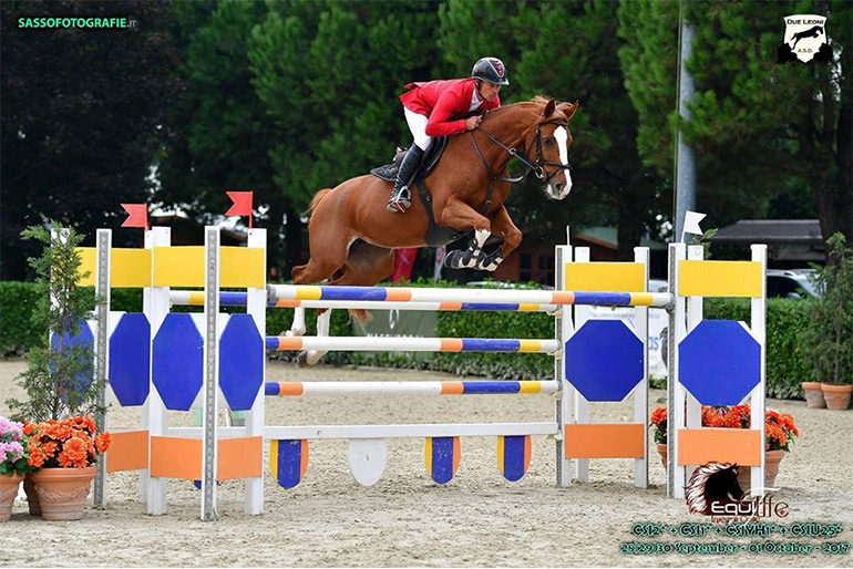 Gorla Minore: Third place with Askaria in the Grand Prix