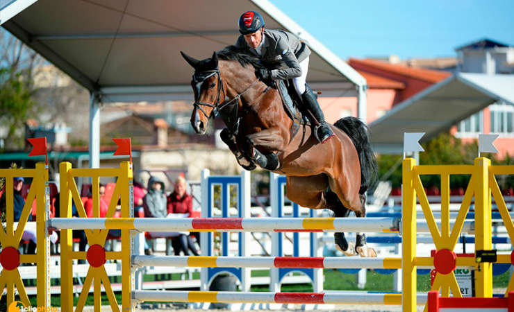 Grand Prix win with Caretina de Joter in Oliva Nova
