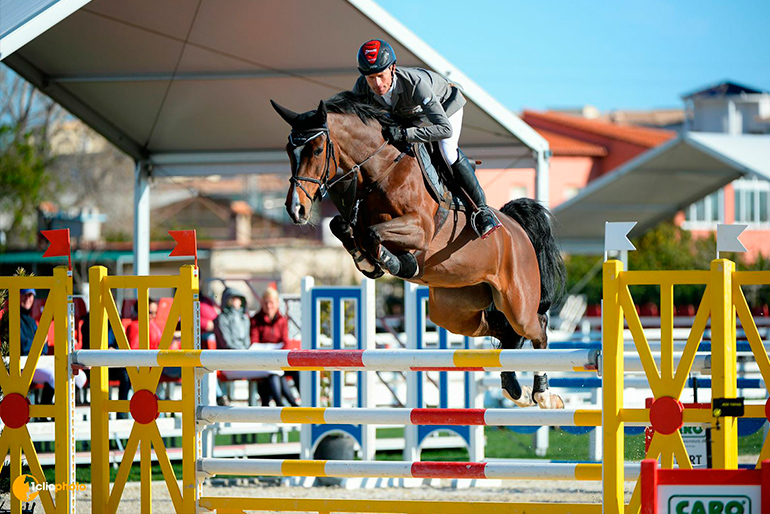 Grand Prix win with Caretina de Joter in Oliva Nova