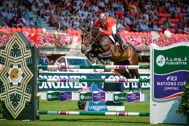 CSIO St. Gallen: Second place in the Nations Cup