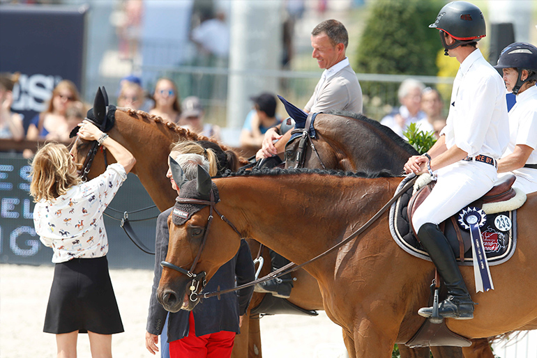 GCT Paris: 2nd place in the Six Bar with Askaria 3