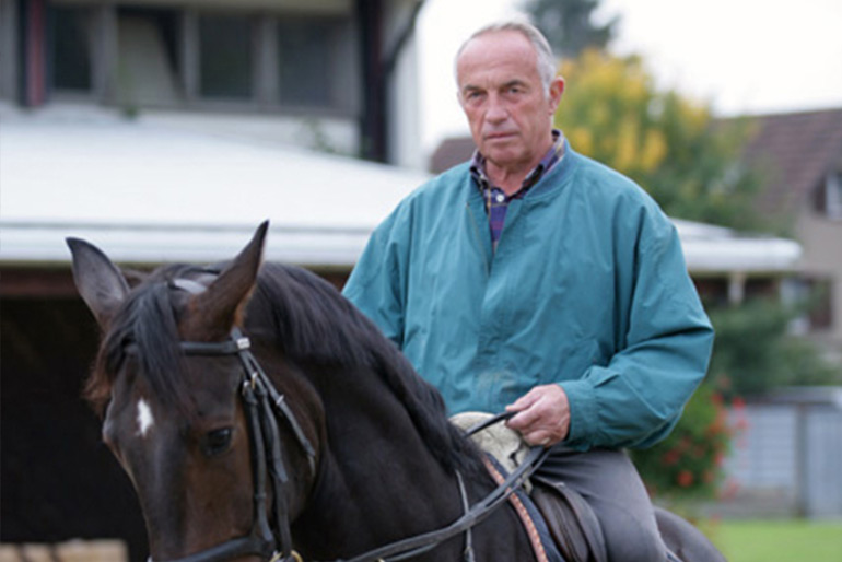 Max Hauri – a great horse person has gone