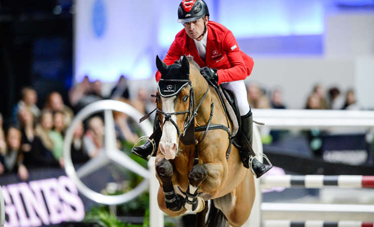 Toulago competes in the World Cup Final in Las Vegas