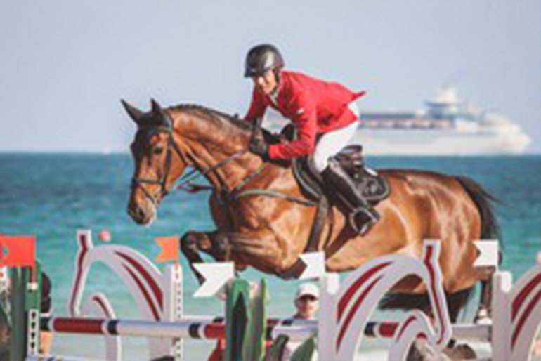 GCT in Miami Beach: Balou Rubin R takes 2nd place