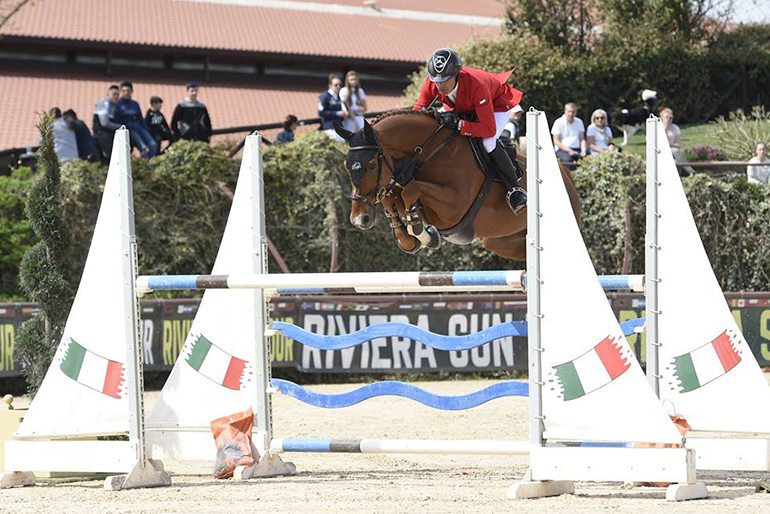 CSI 3* San Giovanni: Several top placings with young horses