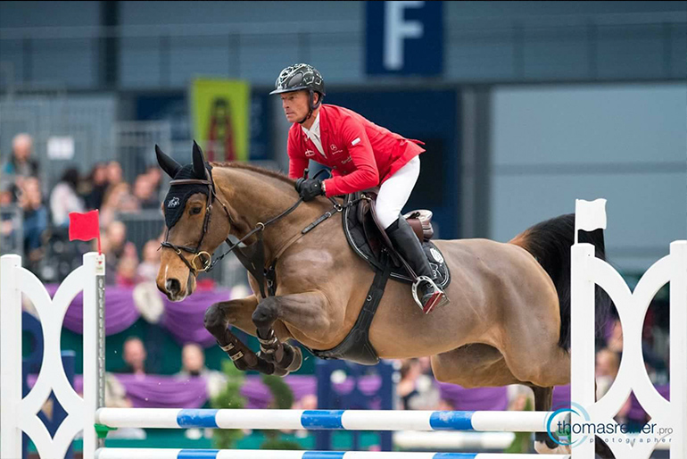 CSI 3* Neumünster: Good results with young horses
