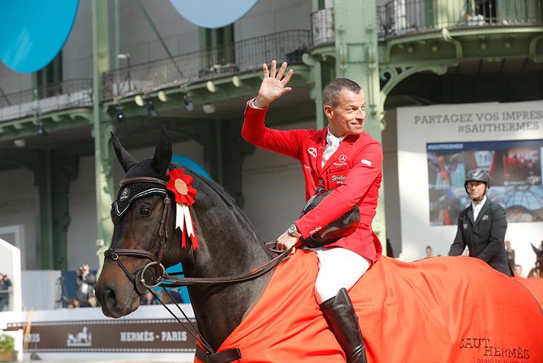 Saut Hermès Paris: Leonard de la Ferme CH wins again