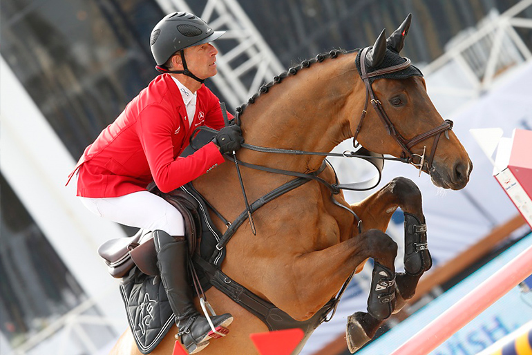 Global Champions Tour: Ailina and Cloud top in Antwerp