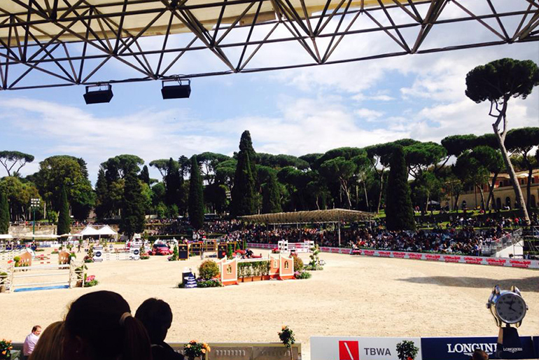 CSIO Rome: First show with Living The Dream