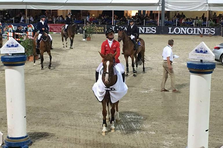 Leonard de la Ferme CH takes victory in Ascona