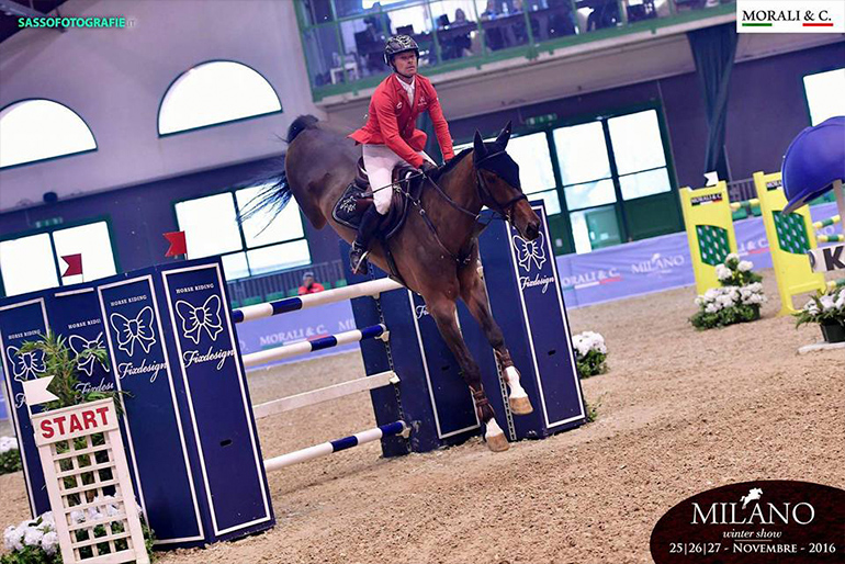 CSI Vermezzo: Leonard wins world ranking class
