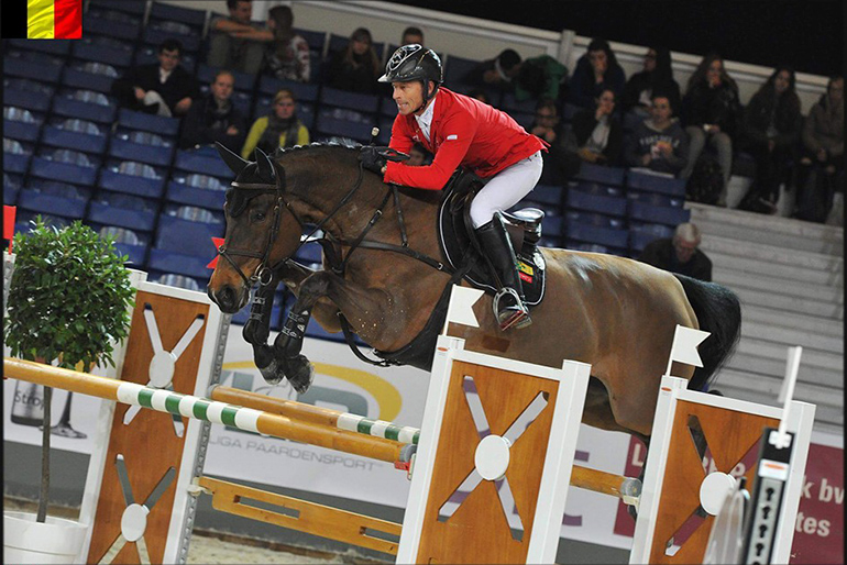 6th place in Grand Prix Gent with new horse Ailina 6