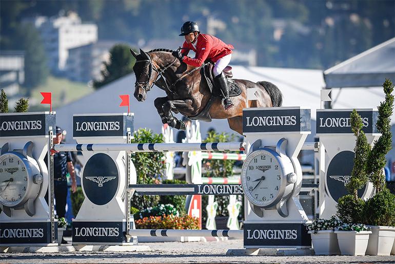 CSI 5* St. Moritz: Balou Rubin wins ranking class