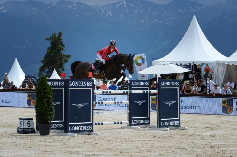 Three victories and a GP placing in Crans-Montana