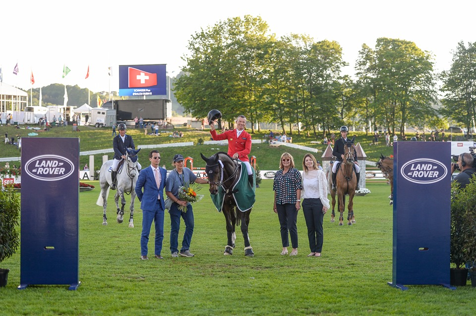 Balou Rubin R wins the Land Rover Speed and Handlness class in St. Gallen