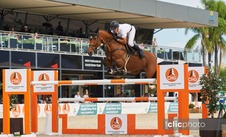 GP Victory with Chidame Z in Oliva