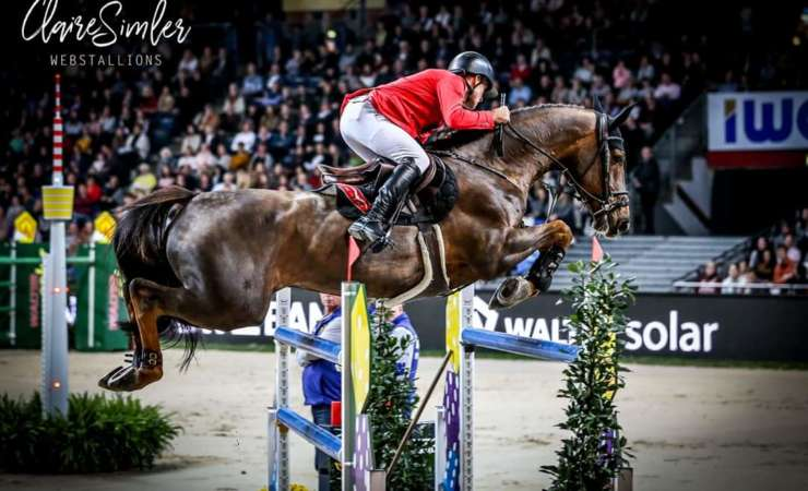 4th place in the World Cup GP of Stuttgart for Cortney Cox